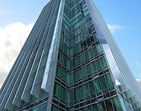 3D model Modern Glass Building