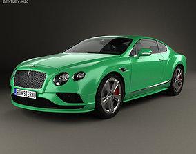 Bentley Continental GT Speed 2015 3D