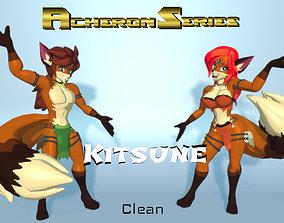 3D model Acheron Kitsune Clean