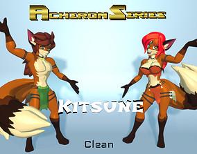 Acheron Kitsune Clean 3D model