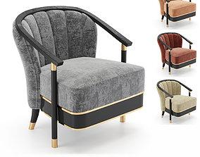 Serena armchair 3D model