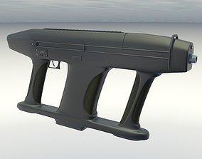 submachine gun AM2 3D model