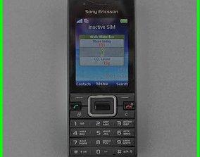 Sony Ericsson Elm J10 3D asset