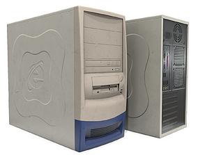 3D asset Old PC Case