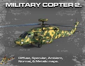 3D model MILITARY COPTER 2