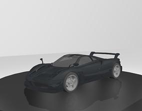 Pagany Huayra BC 3D asset