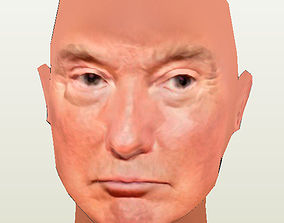Donald Trump 3D asset
