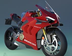 3D asset Ducati Panigale V4R