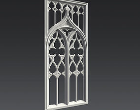 Gothic Ornament 3D model woodcarvings