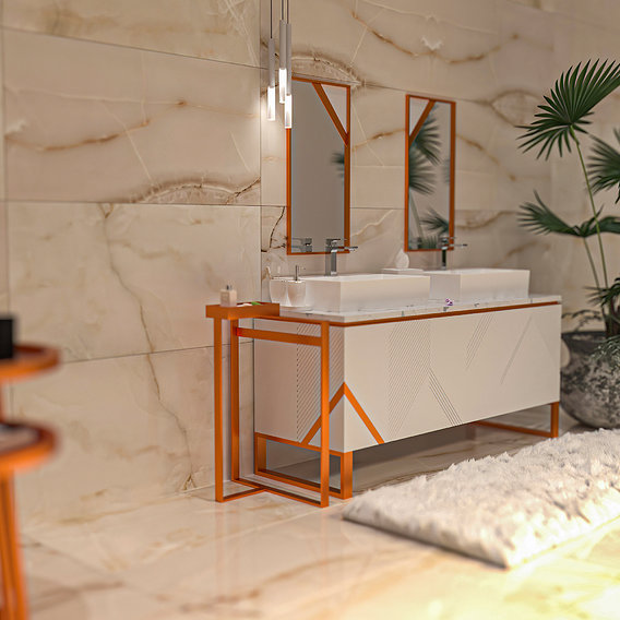 VARESE ceramic wall big bathroom