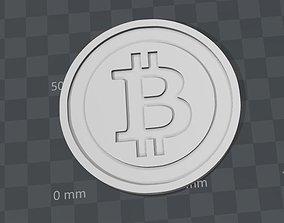 3D printable model Bitcoin