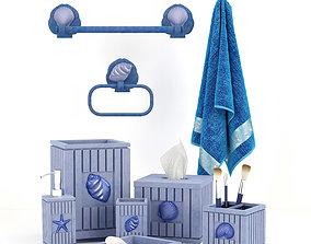 Bathroom decorative set dispenser 3D