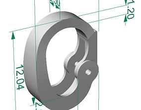 Carabiner lock 3D printable model