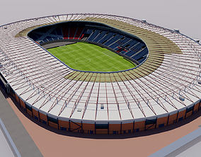 Hampden Park Stadium - Glasgow Scotland 3D