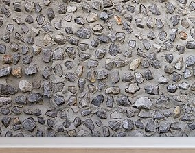 Stone cladding Stone 019 3D asset