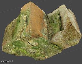 3D asset Ultra Realistic Piece of Rubble Scanned 4k
