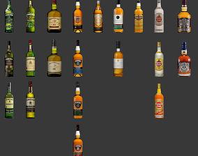 Bottles 3D asset