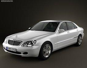 Mercedes-Benz S-class 2003 3D