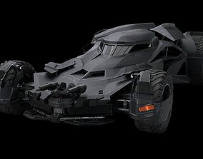 3D asset Batmobile Batman vs Superman