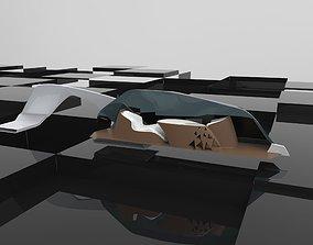 3D model Mobile Workstation