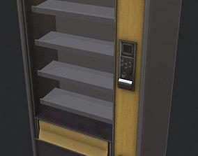 Selling automat 3D asset low-poly