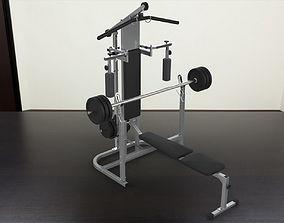 3D model Kettler Classic gym pad