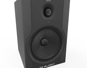 BX5 Speakers 3D asset