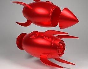 rocket holder 3D print model