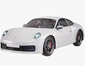 3D model Porshe Carrera 911 PBR