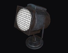 3D model game-ready Searchlight