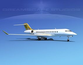 Bombardier Global 5000 V01 3D