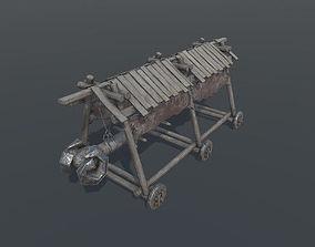 Battering Ram - Siege Tower 3D asset