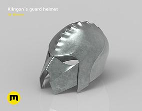 Klingon guard helmet 3D print model