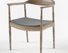 3D model Hans Wegner Kennedy Arm Chair