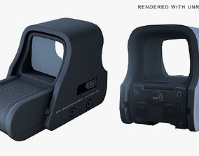 Collimator Holographic Weapon Sight 3D model