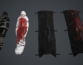 3D model Body Bag Pack PBR Game Ready