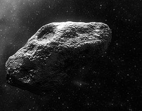 3D asset VR / AR ready Asteroid