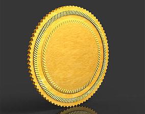 round achievement 3D model