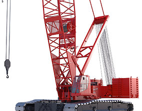 3D Crawler Crane Manitowoc 16000