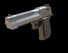 Pistol Gun 3D model