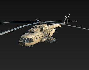 Helicopter Mi-171 3D model
