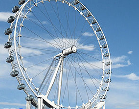 3D london eye