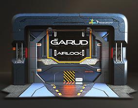 3D model Sci-fi Airlock Gate
