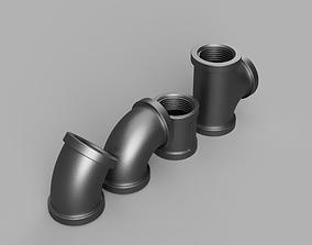 Steampunk tree quarter inch 3D printable model
