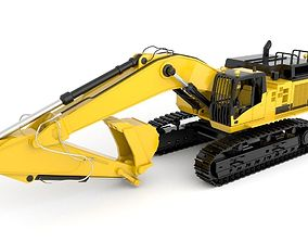 engineering 3D model Standard Excavator High Poly