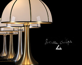 Table Lamp Fungo by Gabriella Crespi 3D asset