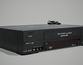 VHS Player 3D asset