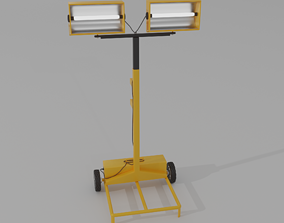 3D model Portable Floodlight