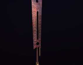 Bloody Sword 3D asset