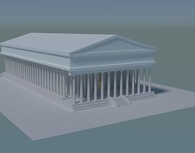 3D model Greek Temple